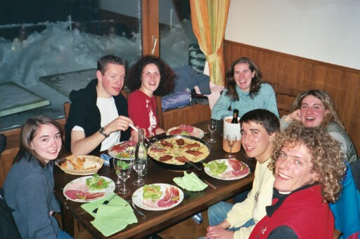 me (yes, I was there too), Thomas, Celine, Angelique, Aline, Matthieu and Philippe