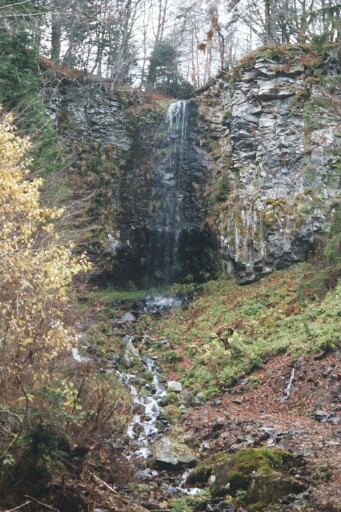the Saux waterfall