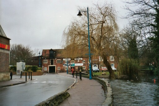 the old mills, mentioned in the Domesday Book