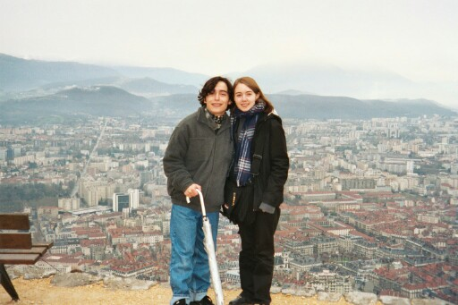 Alex and Srah in Grenoble