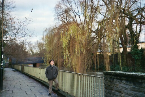 Alex by the Thames in Oxford