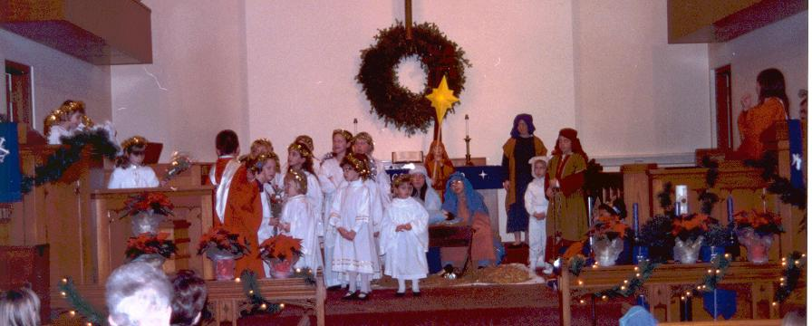 West Side United Methodist Church Christmas Pageant, 1997